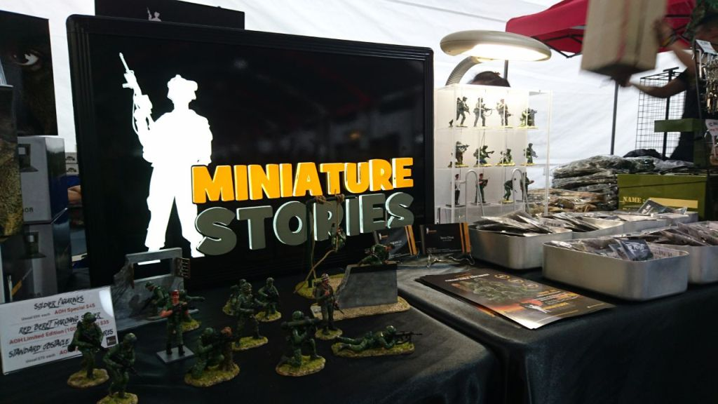 Miniature Stories@AOH2017 Booth